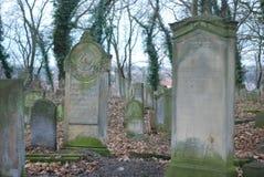 Jüdischer Kirchhof Lizenzfreie Stockfotos