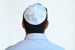 Jüdischer Mann mit kippah Lizenzfreies Stockfoto