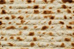 Jüdischer Passahfest Matzah Stockfoto