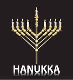Jüdisches hanukka menorah Lizenzfreie Stockbilder