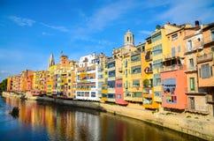 Jüdisches Viertel, Girona, Spanien Stockfoto