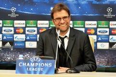 Jürgen Klopp smiling Royalty Free Stock Images