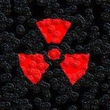 jądrowy ostrzeżenie Obrazy Stock