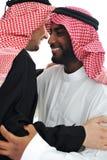 język arabski ma mężczyzna ciepłych dwa zdjęcie stock