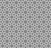 Języka arabskiego deseniowy geometryczny również zwrócić corel ilustracji wektora Zdjęcie Stock