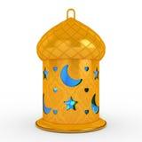 Języka arabskiego Ramadan lampion zdjęcie stock