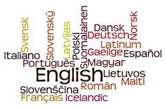 Języki royalty ilustracja