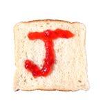 J è per Jello fotografie stock libere da diritti