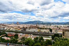 J'étais en Italie Photo libre de droits