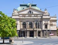 J Κ Θέατρο Tyl, Plzen, Τσεχία Στοκ φωτογραφία με δικαίωμα ελεύθερης χρήσης