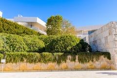 J 保罗格蒂博物馆在加利福尼亚 免版税库存图片