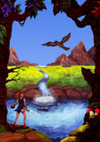 美好的理想国(J 灰色的梦想序列,2010) 免版税库存图片