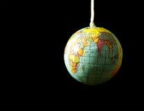 J'ai le monde sur une chaîne de caractères Photo libre de droits