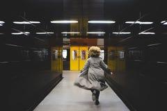 J'ai manqué le train ! Photographie stock