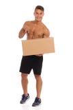 J'ai votre livraison Photo stock