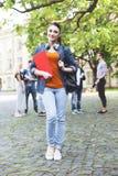 J'aime étudier à cette université Photo libre de droits