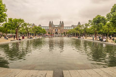 J'AIME AMSTERSAM Rijksmuseum Photographie stock