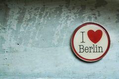 J'aime Berlin image stock