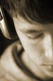 J'aime cette chanson ! photo libre de droits
