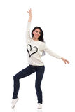 J'aime danser Photo stock