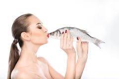 J'aime des fruits de mer beaucoup Photographie stock libre de droits