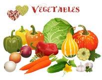 J'aime des légumes Images libres de droits