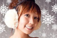 J'aime l'éclaille de neige Image libre de droits