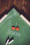 J'aime l'école Photos libres de droits