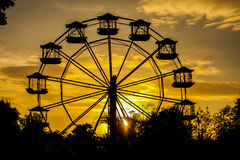 J'aime la roue Photos stock