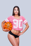 J'aime le basket-ball ! Images stock