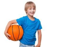 J'aime le basket-ball ! Photos libres de droits