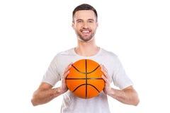 J'aime le basket-ball Photo stock