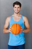 J'aime le basket-ball ! Photographie stock libre de droits