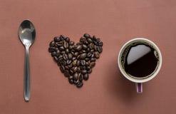J'aime le café Photographie stock