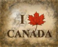 J'aime le Canada Photos libres de droits