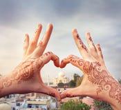 J'aime le concept d'Inde Photos libres de droits