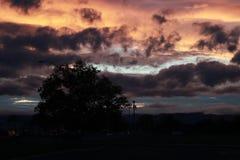 J'aime le coucher du soleil Image stock