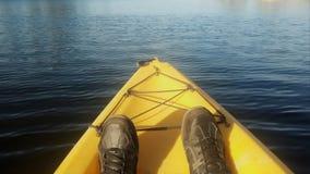 J'aime le kayak photographie stock