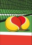 J'aime le tennis illustration stock