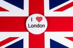 J'aime Londres Photographie stock libre de droits