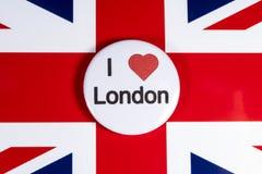 J'aime Londres Photo libre de droits