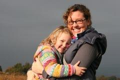 J'aime ma momie Photographie stock libre de droits