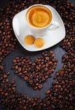 J'aime mon café Photo libre de droits