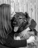 J'aime mon Doggie4 Photo libre de droits