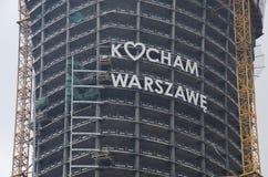 J'aime Varsovie Photographie stock libre de droits