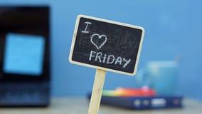 J'aime vendredi Photo stock