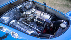 1951 J2 Allard classic racing car engine Royalty Free Stock Photos
