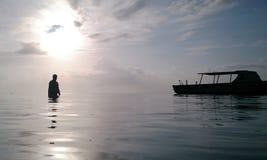 J'au lever de soleil Image libre de droits