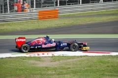 J.B. Vergne in de praktijkdag van Monza 2012. Royalty-vrije Stock Foto's
