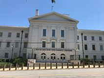 J Bratton Davis United States Bankruptcy Courthouse auf Laurel St in Kolumbien, Sc stockfotos